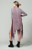 Siena Sleeveless Knit Vest - Burgundy
