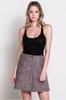 Lisa Knit Sleeveless Top - Black
