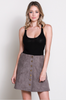 Lisa Knit Sleeveless Top - Black