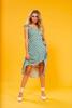 Misty Ruffle Midi Skirt - Sage