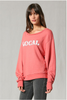 Local Graphic Sweatshirt Top - Sienna/Pink