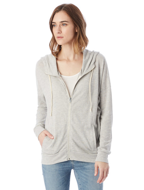 Cool Down Zip Hoodie - Eco Oatmeal