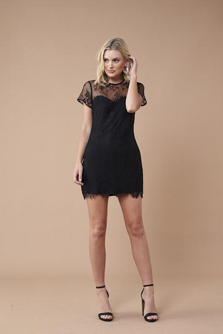 Secret Romance Dress - Black