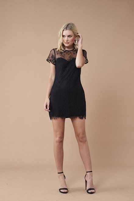 Secret Romance Dress - Black
