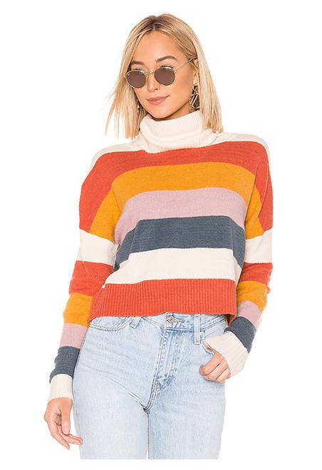 Be Bold Strip Knit - Multi Color Stripes