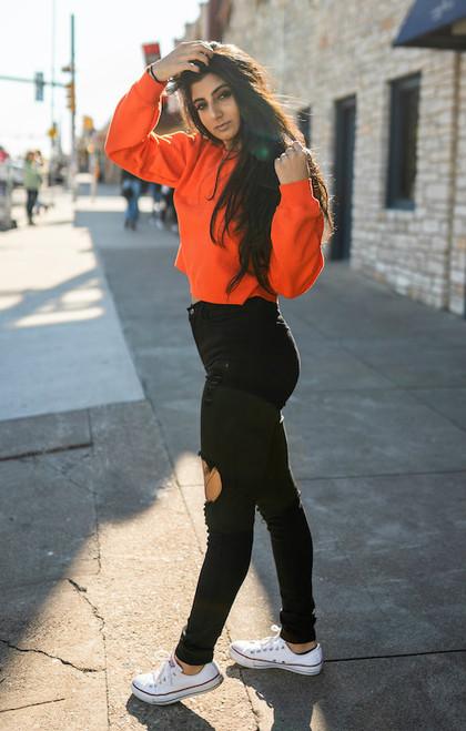 Cotone Vintage - Vitamin C Please Sweater - Orange