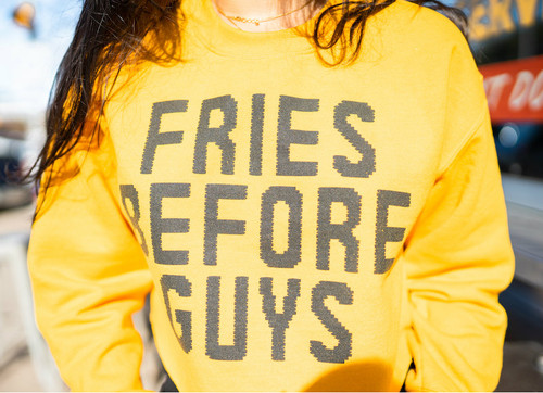 Cotone Vintage - Fries Before Guys - Yellow