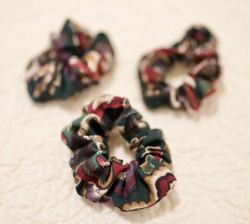 Handmade scrunches