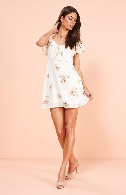 Sweet Delilah Mini Dress - White