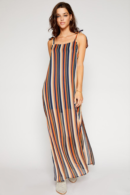 Marisa Color Blocker Maxi Dress - Multi
