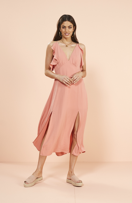 Vera Maxi Dress - Blush