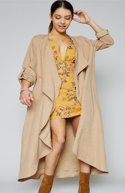 Hampstead Trench Coat - Khaki