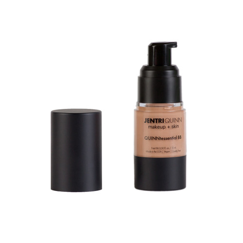 A multi-functional beauty fluid that nourishes skin while acting as a moisturizer, primer, light concealer and sunblock.   One color adapts to match all skin tones. May be worn as a primer under your favorite foundation or alone to turn dull skin into happy, healthy, luminous skin!