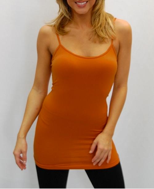 Camisole - Burnt Orange - One Size