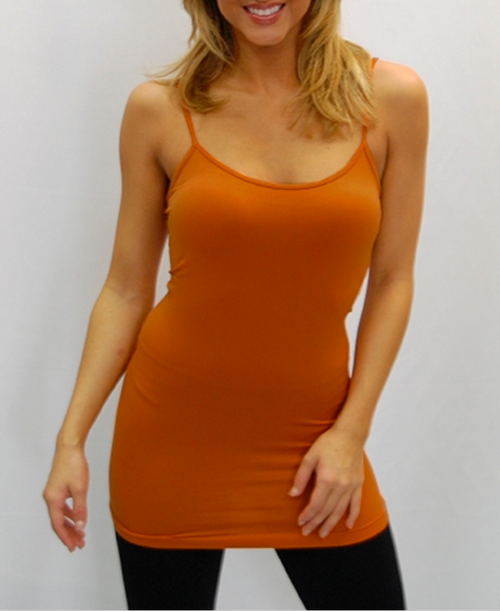 Camisole - Burnt Orange - One Size