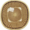 Pine Needle Harvest  Basket Deep alt