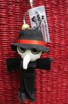 Kamibashi String Doll Plague Doctor red