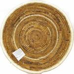 Banana Fiber Table Basket Natural top