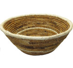 Banana Fiber Table Basket Natural