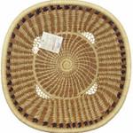 Pine Needle Harvest  Basket Deep alt