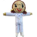 Kamibashi String Kamala Harris White Suit