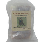 Handmade Cedar Whisky Soap alt