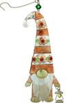 Handmade Metal Ornament Lantern Gnome