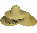 African Straw Hats Natural