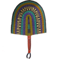 West African Straw Fans