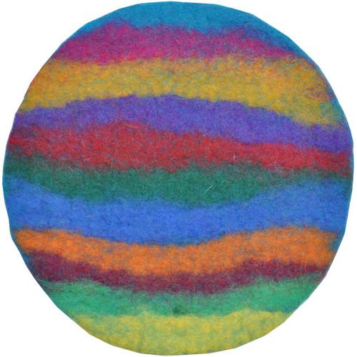 Felted Wool Trivet Nepal - 10