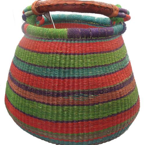 African Bolga Basket Gambibgo Pot #1