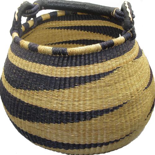 African Bolga Basket Gambibgo Pot #3