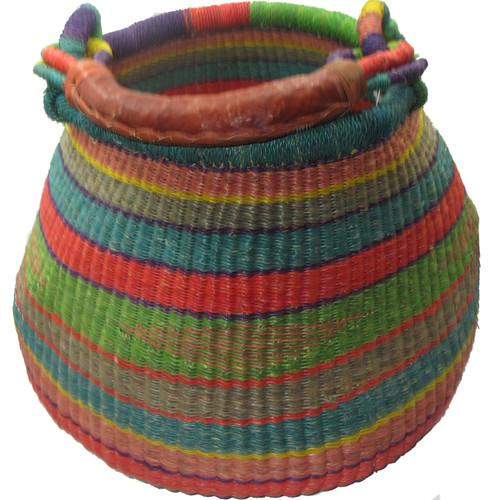 African Bolga Basket Gambibgo Pot #7