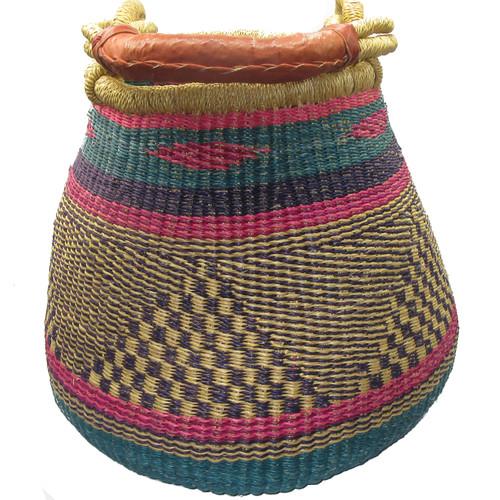 African Bolga Basket Gambibgo Pot #6