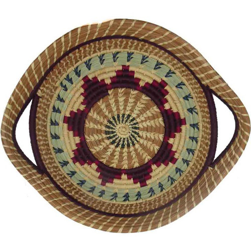 Pine Needle Basket Chumil Purple alt