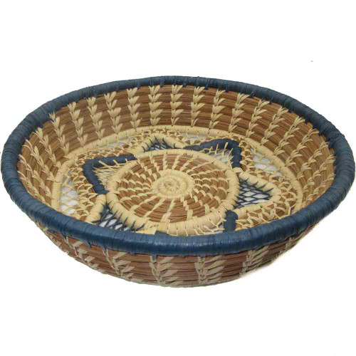 Pine Needle and Raffia Basket Florinda
