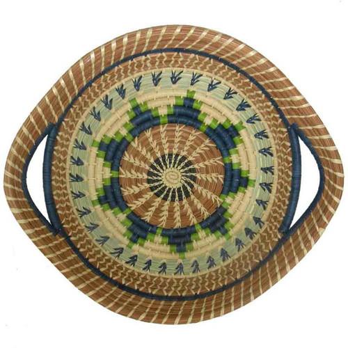 Pine Needle Basket Chumil Green