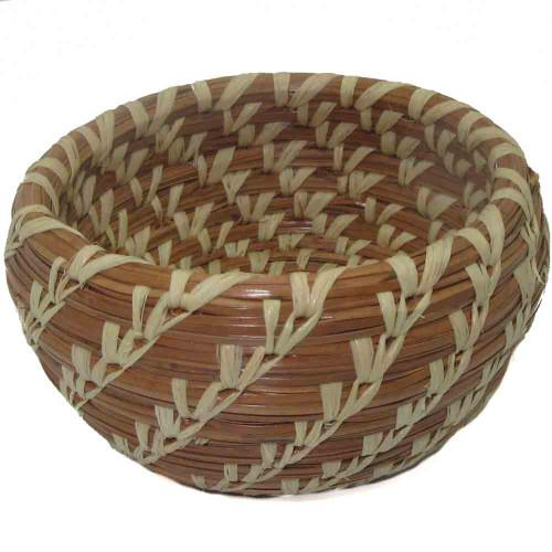 Pine Needle Tiny Basket