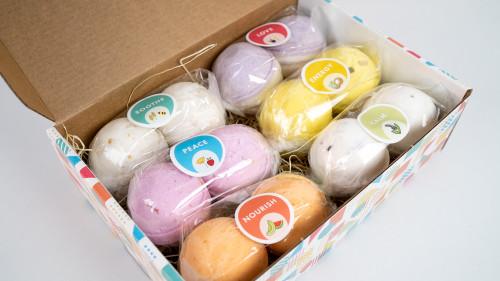 Bath Bomb Gift Set - Variety