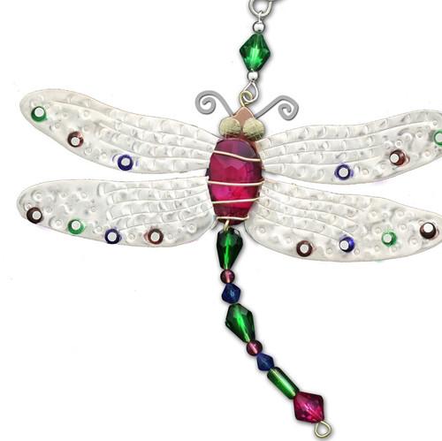Handmade Metal Ornament Dragonfly