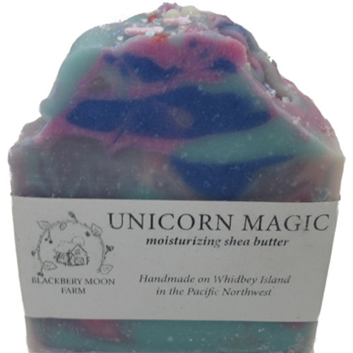 Blackberry Moon Farm Handmade Unicorn Magic Soap