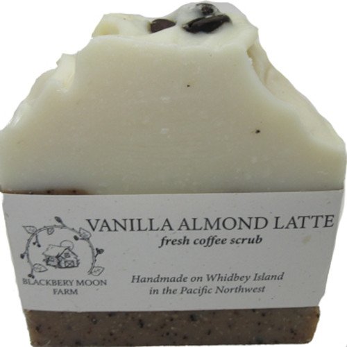 Blackberry Moon Farm Handmade Vanilla Almond Latte Soap