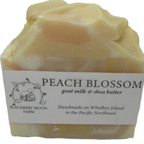 Blackberry Moon Farm Handmade Peach Blossom Soap