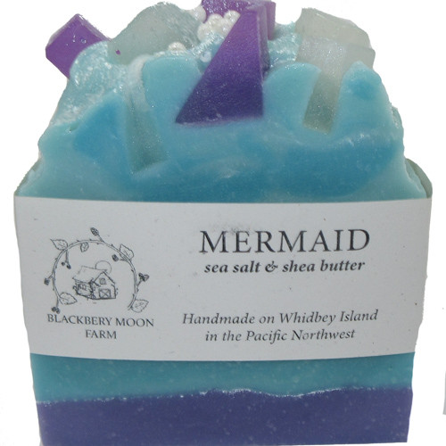 Blackberry Moon Farm Handmade Mermaid Soap