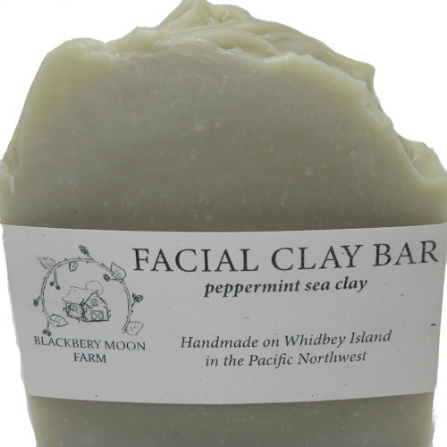 Blackberry Moon Farm Handmade Facial Clay Soap