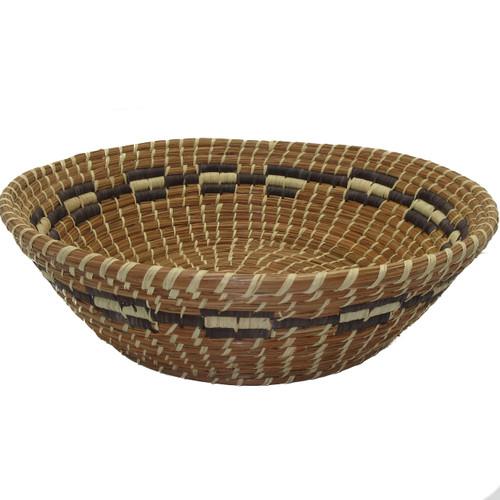 Pine Needle and Raffia Basket Bernarda