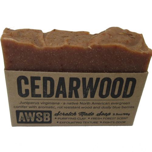 A Wild Soap Bar Cedarwood Bar Soap