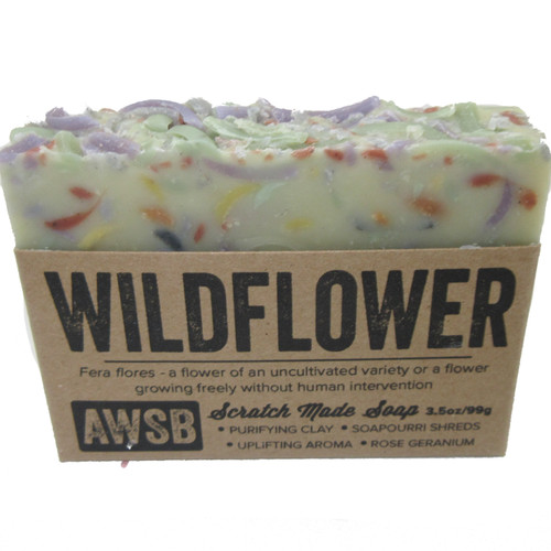 A Wild Soap Bar Wildflower Bar Soap