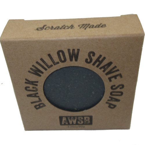 A Wild Soap Bar Black Willow Shave Soap
