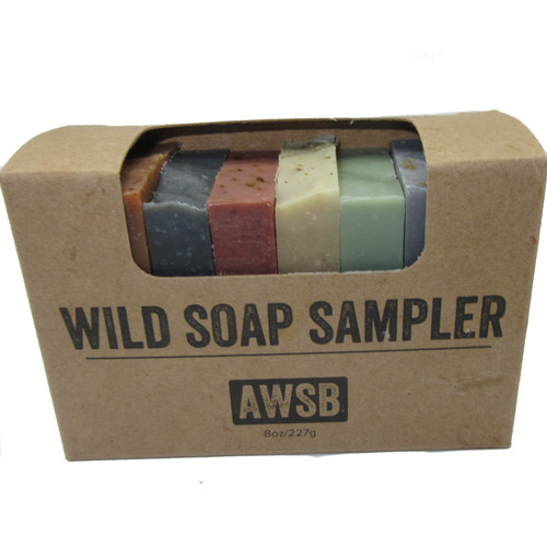 A Wild Soap Bar Soap Sampler Set